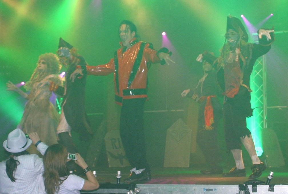 JW Representer of Michael Jackson, Double, Show-THRILLER, MJSP
