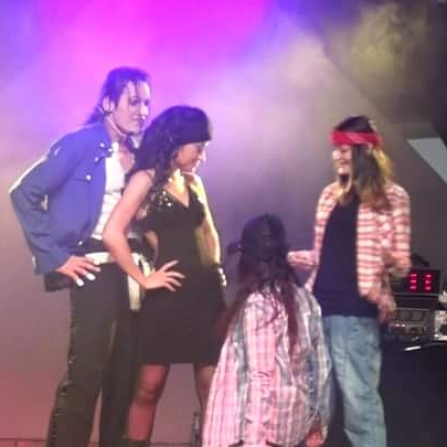 JW Representer of Michael Jackson, Double, Show-THE WAY YOU MAKE ME FEEL, MJSP
