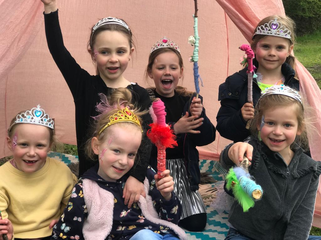 Themafeest prinsessen