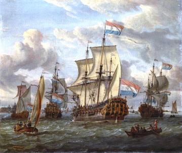 Een tweede thema:  Hollandsch Glorie!