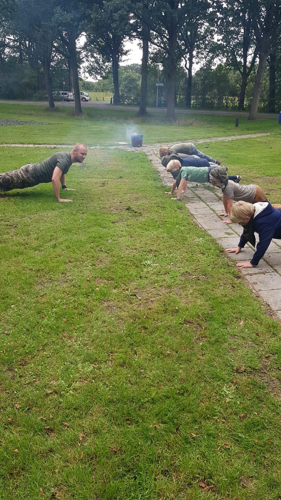 Themafeest soldatentraining