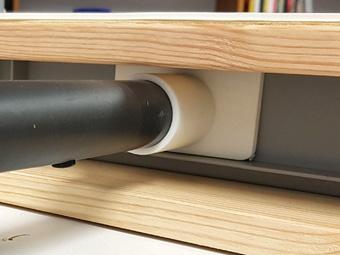 Vacuum Former mit 3D gedrucktem Anschluss