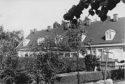 Die (Romain) Rollandstraße Anfang der 70er Jahre