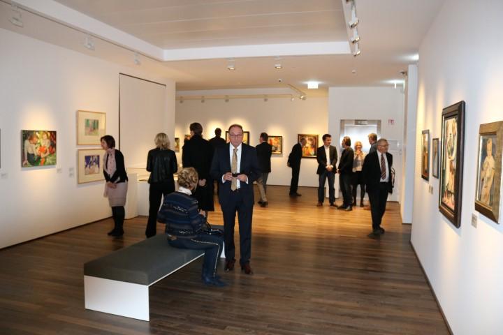 August Macke Museum Parkett Weber Räuchereiche by chene de lèst