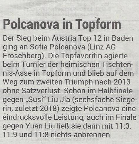 7.05.2019 Volksblatt