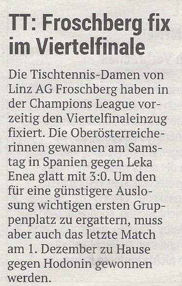 04.11.2019 Volksblatt