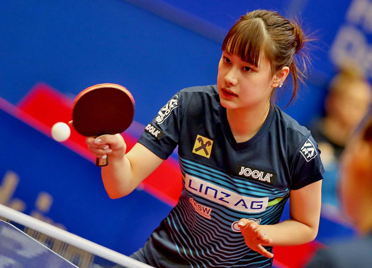 Yui Hamamoto - vor Turnierpause WR 25 holt mit LINZ AG Froschberg Central Europe SL Titel