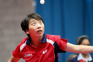 Foto ITTF Wu Yue von LZ LINZ Froschberg