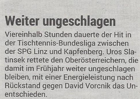 19.03.2019 Volksblatt