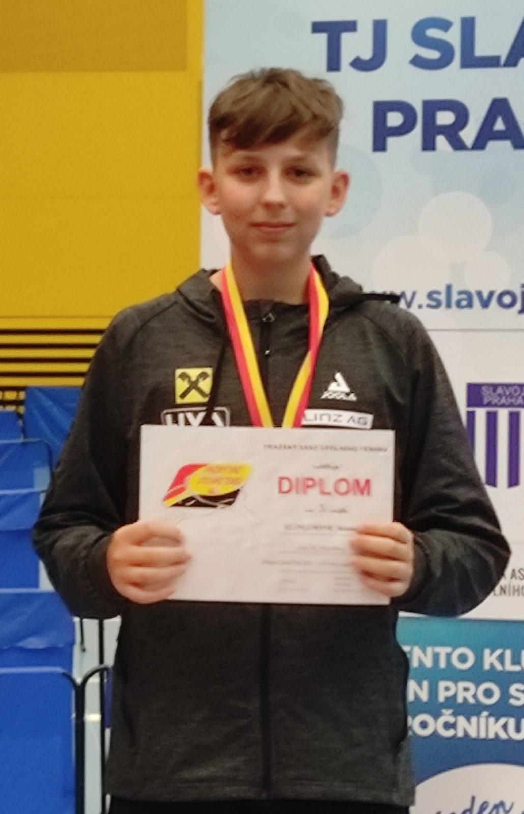 Manuel Klinglmair 3. Platz Jugend Einzel