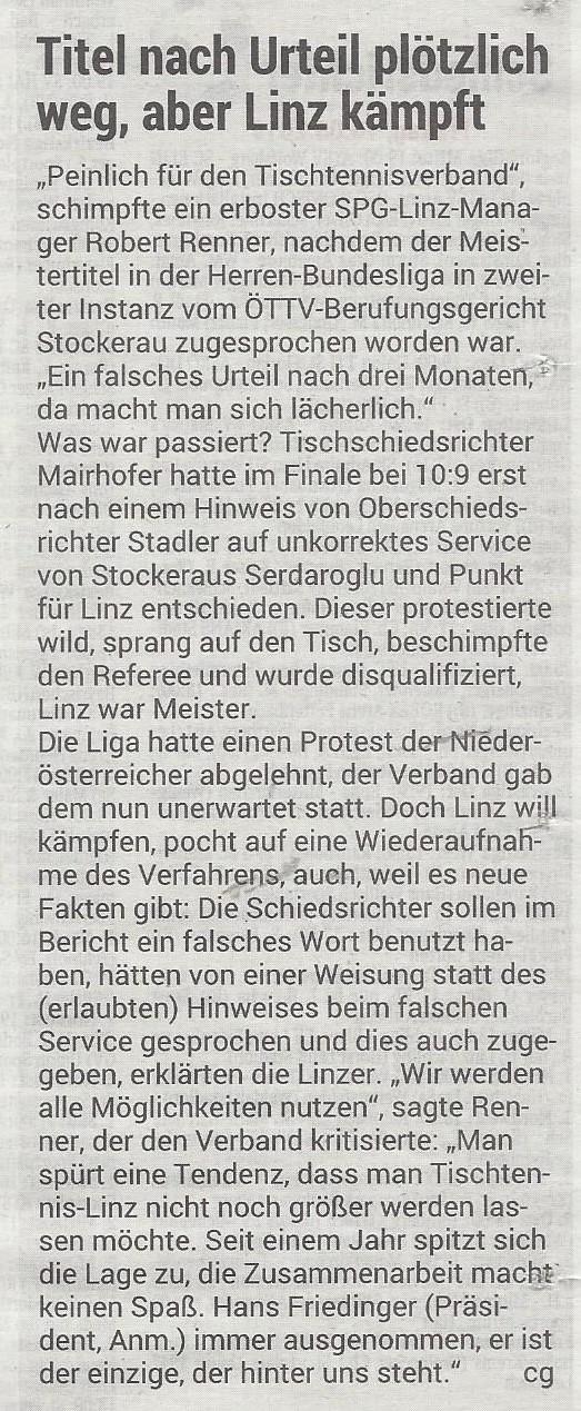 16.08 2019 Volksblatt