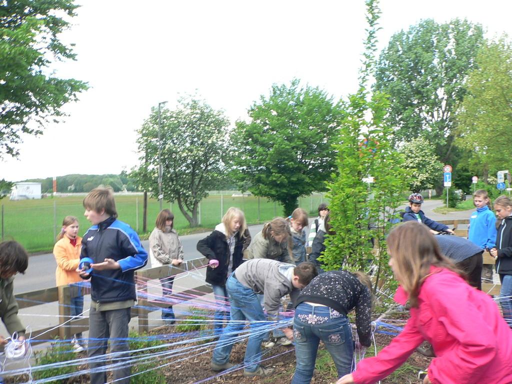 LandArt-Projekt KGS Hemmingen, 5.Klasse