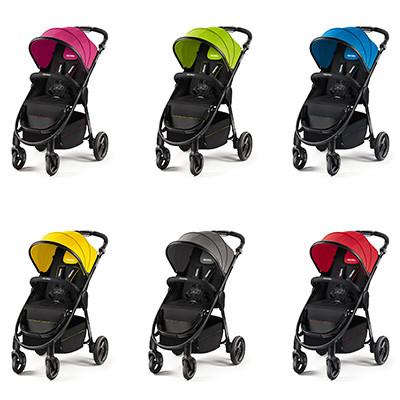 Sechs farbfrohe Designs für den RECARO Citylife.