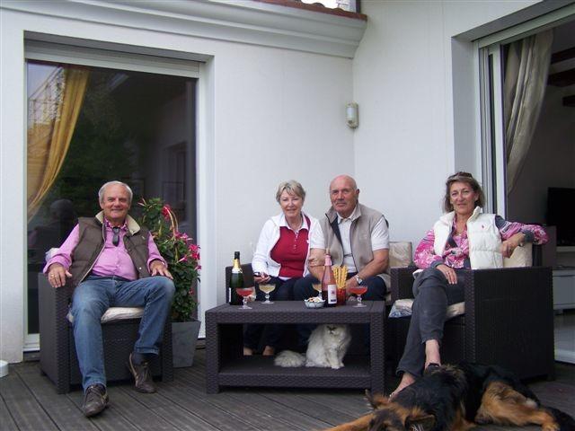Des moments de convivialité avec nos Hôtes
