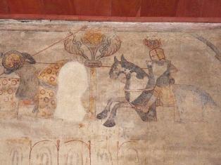 Fresque intérieure de la Tour d'Arles