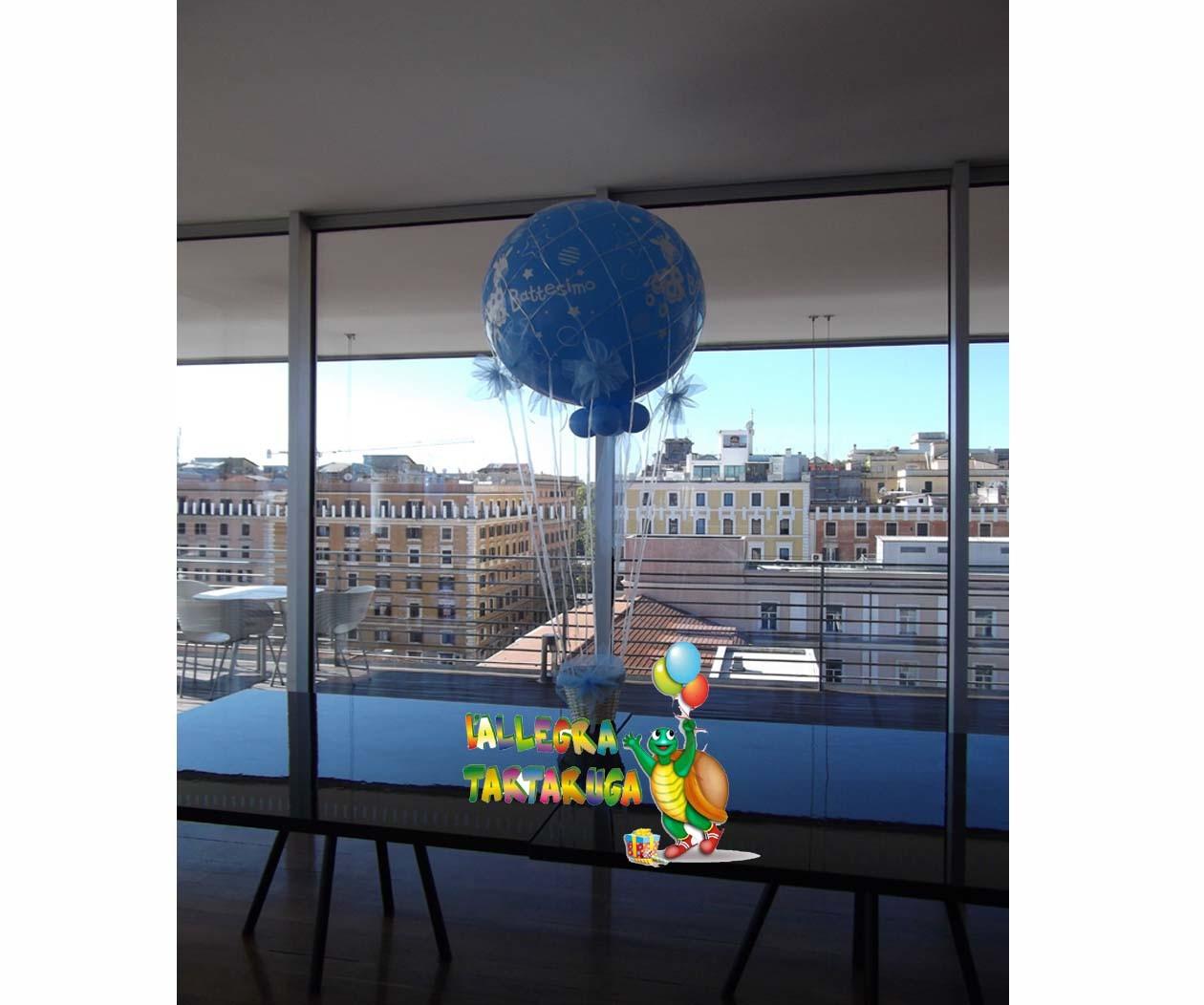 allestimenti palloncini battesimo