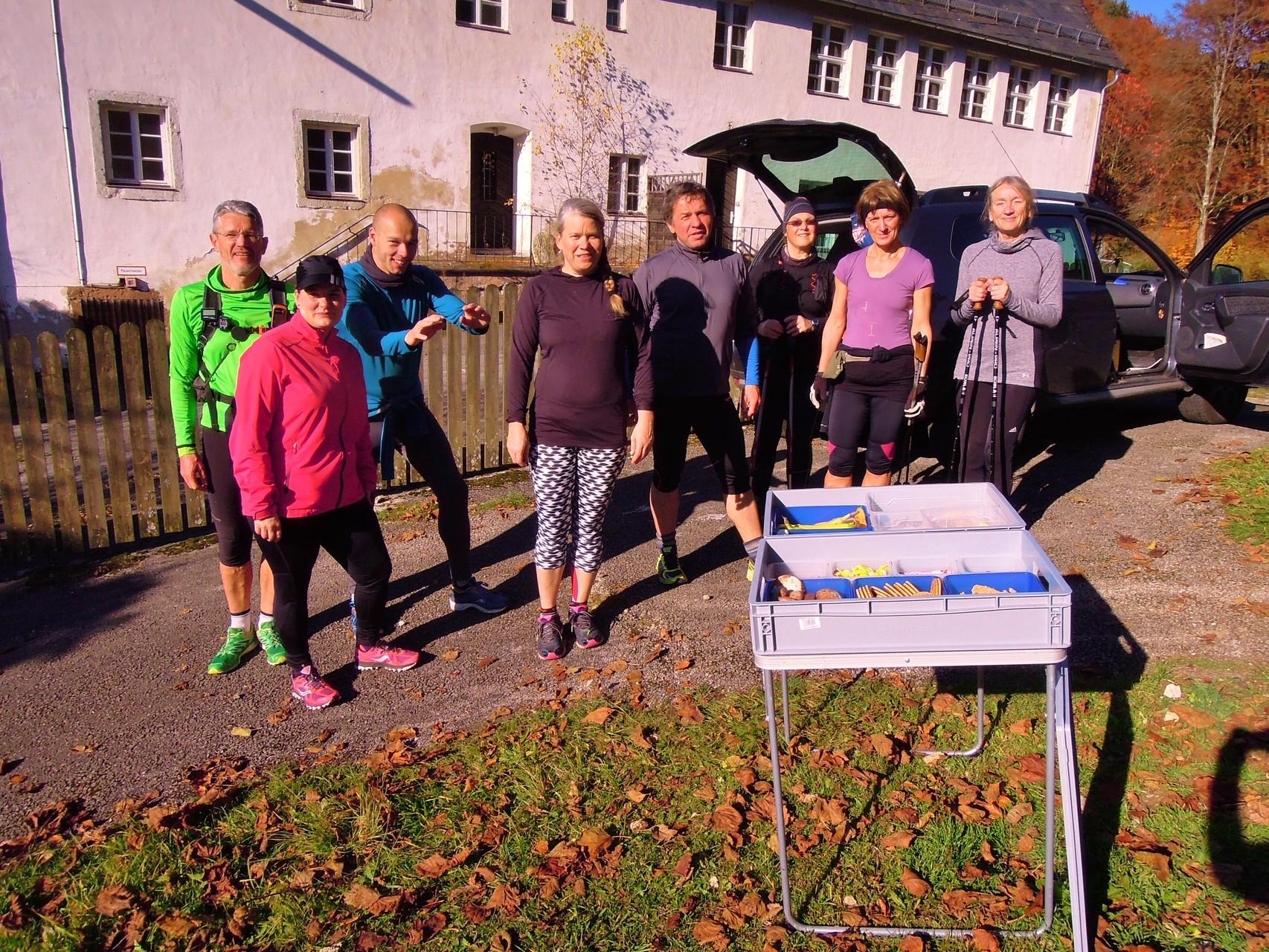 Zurück am Bildungszentrum Obertrubach