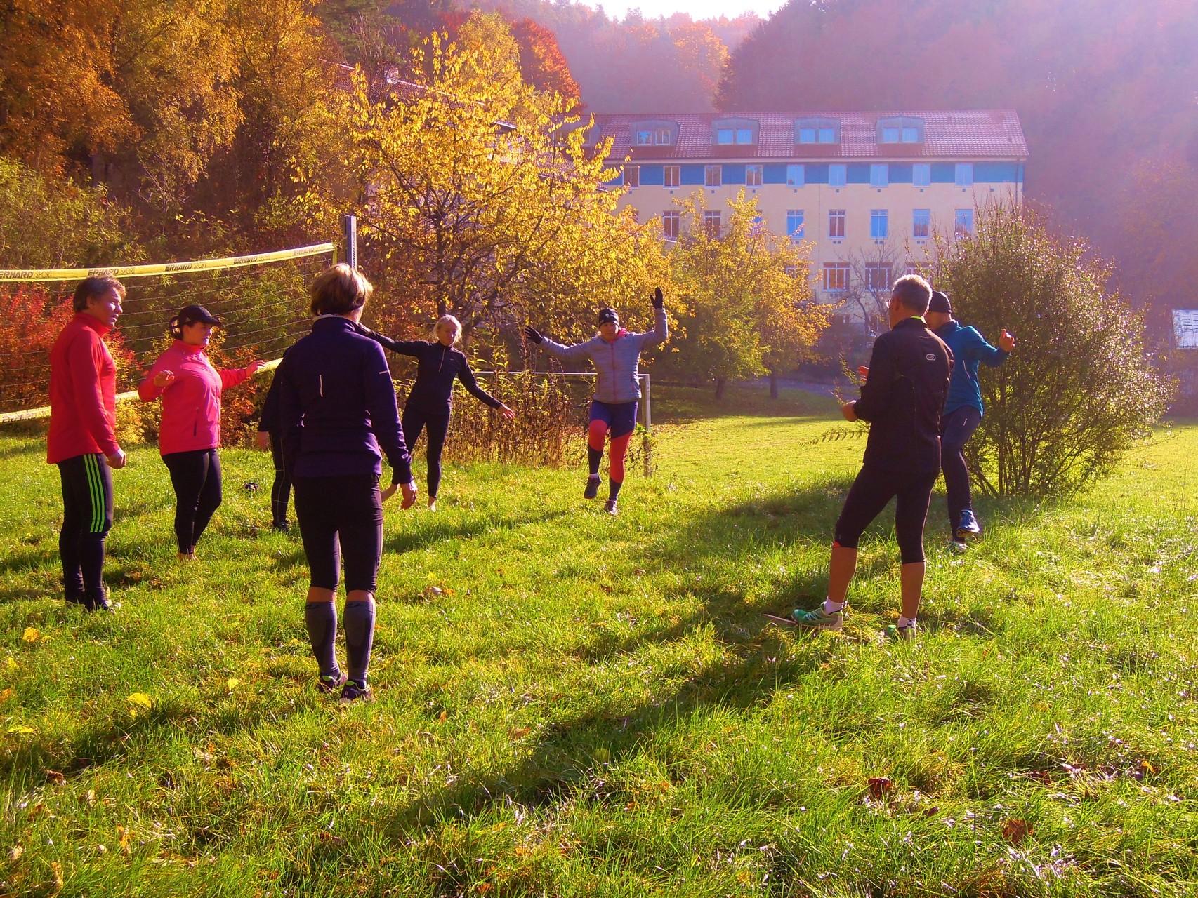 Koordinations- und Ballanceübungen