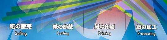 紙の販売、紙の断裁、紙の印刷、紙の加工は、名古屋の木村紙商事へ。