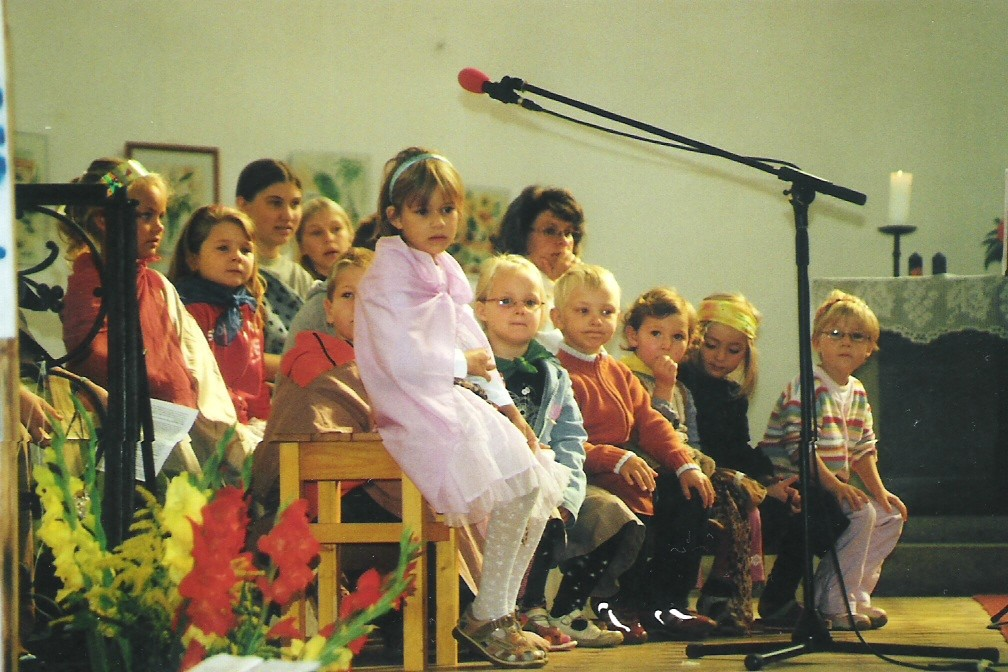 Kinderchor bei den Kindersingetagen