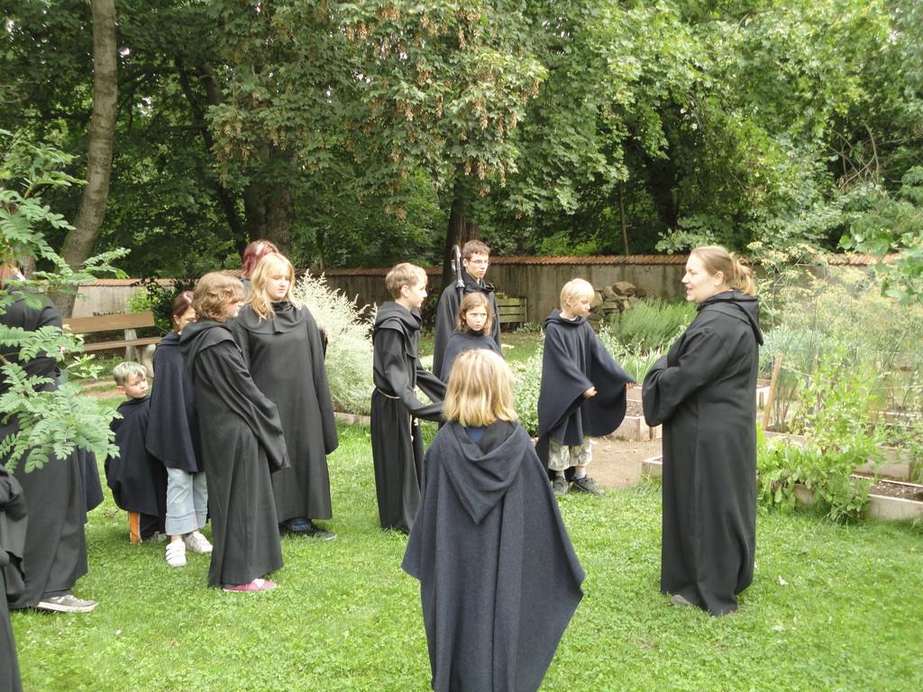 Zeitreise - im Kloster Memleben...