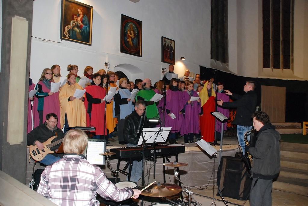 Chor und Musiker (Generalprobe)