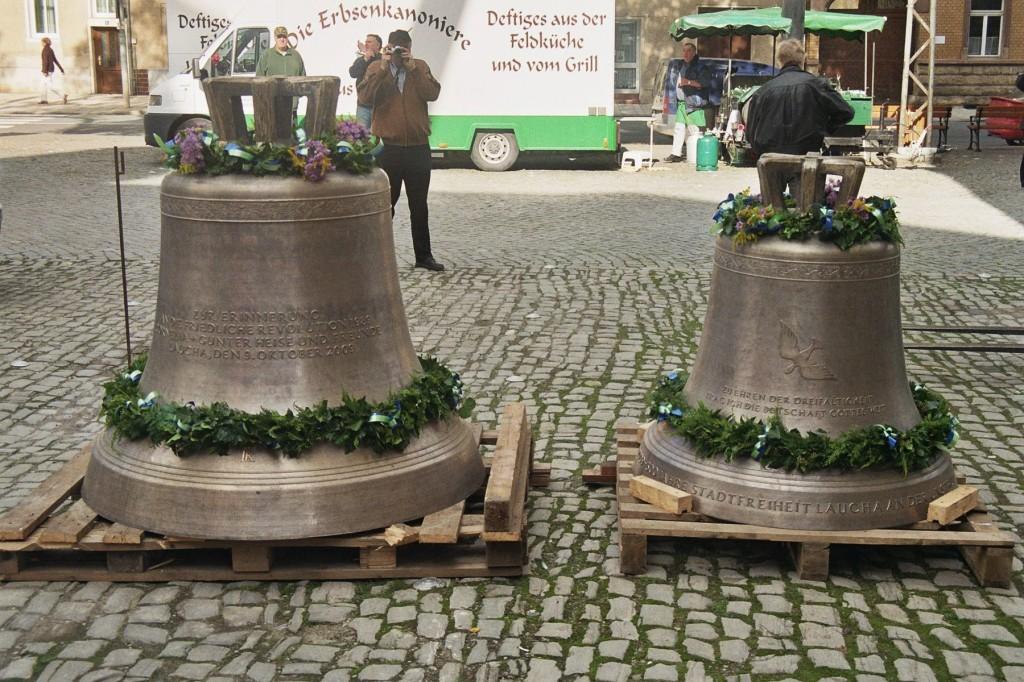 9. Oktober 2009 - Glockenaufzug im Gedenken an die friedliche Revolution