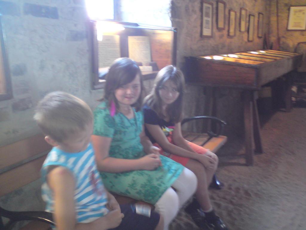 Im Glockenmuseum Laucha