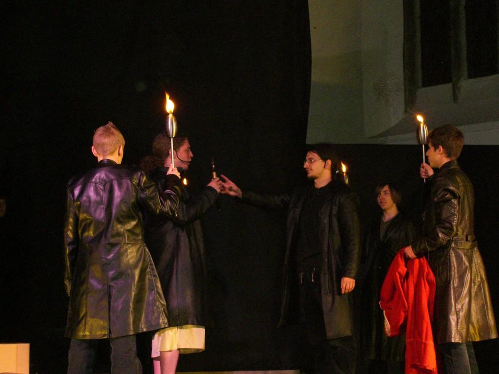 Aufnahme des Judas