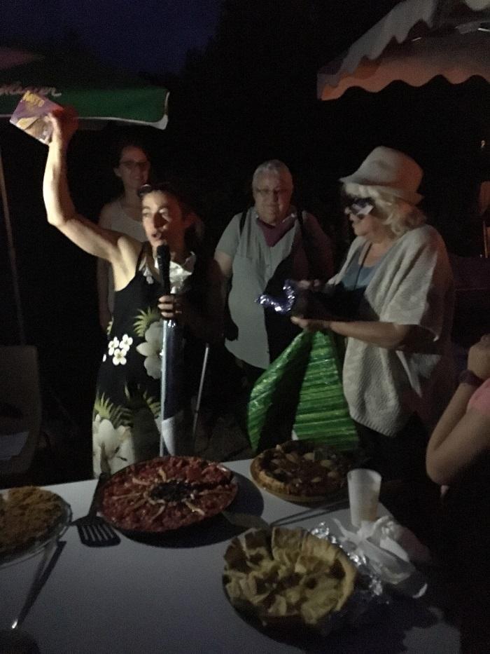 Sa tarte à la cerise a valu à Anne-Marie Bourbonnais le premier prix du concours