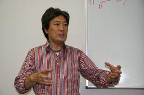 安田先生の講演時の様子