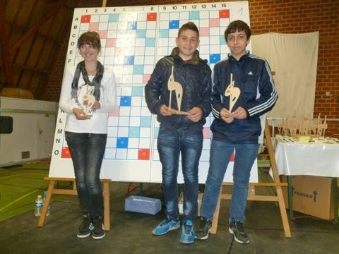 Lucas champion en promotion cadet