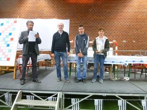 Amaury et Martin vice-champions en paires junoirs