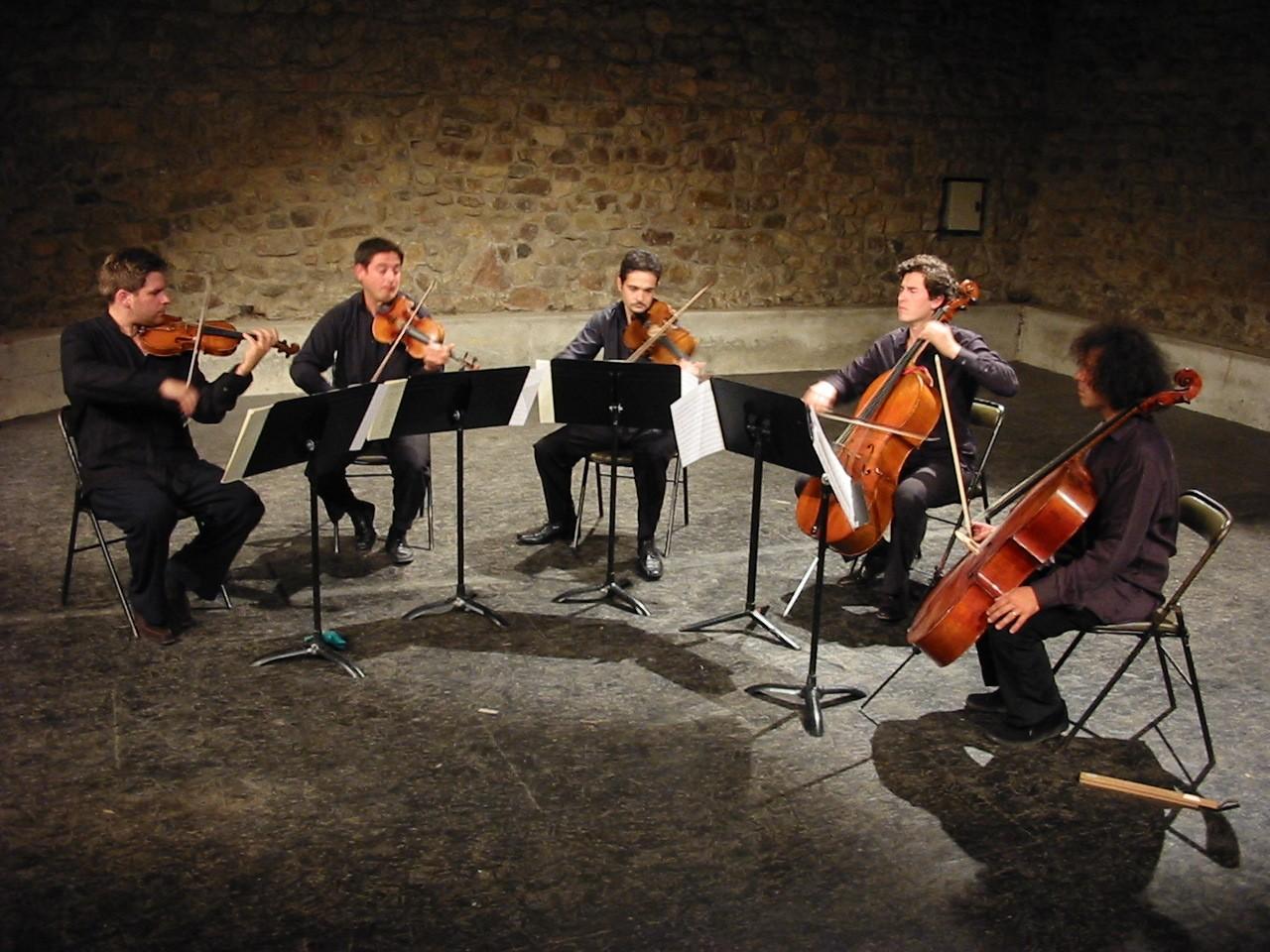 2005 - Premier concert