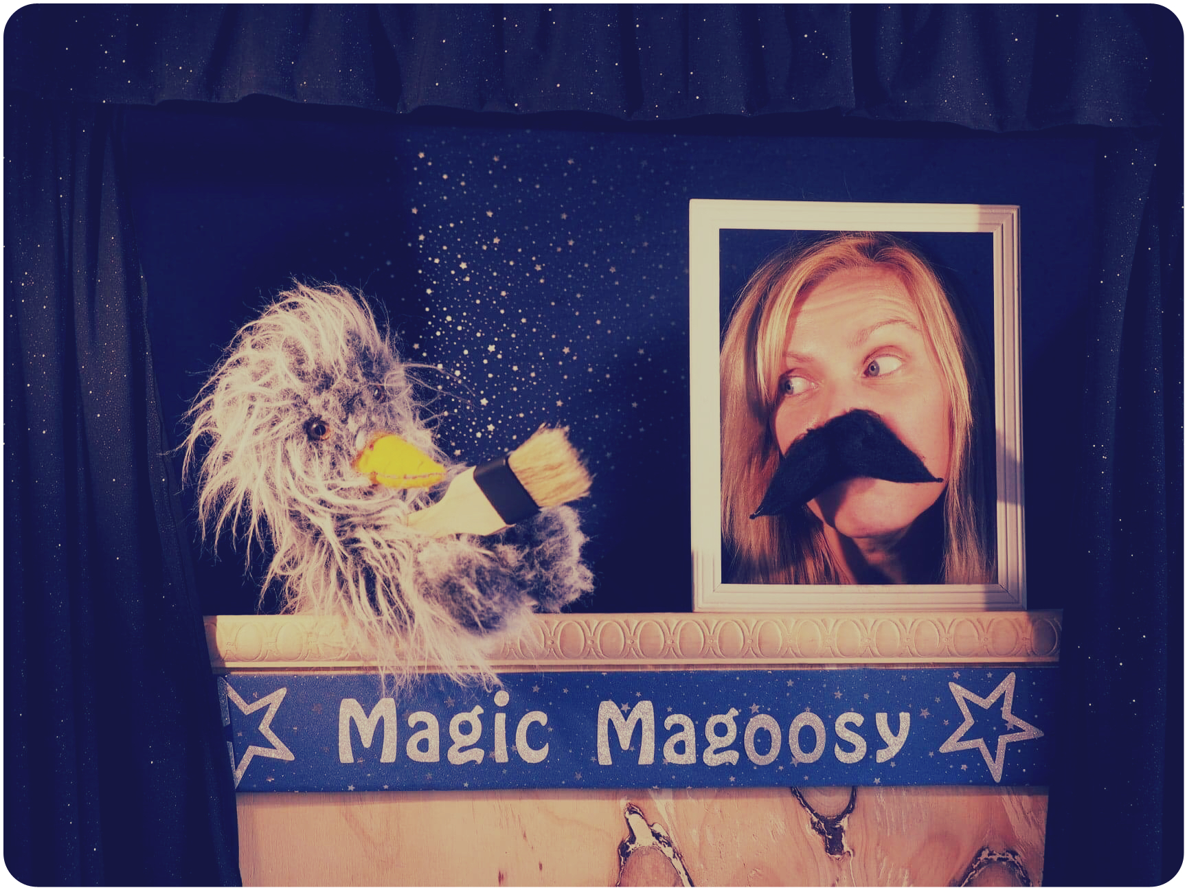 Mrs Jo's Tiny Tales - Magic Magoosy - puppet show incursion Melbourne