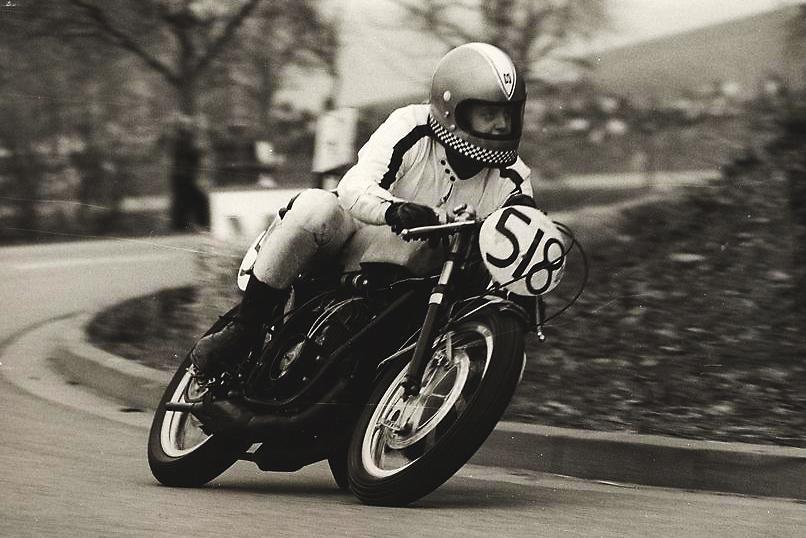 Bergrennen Zotzenbach 1972, 250 ccm/ Yamaha TD 2b
