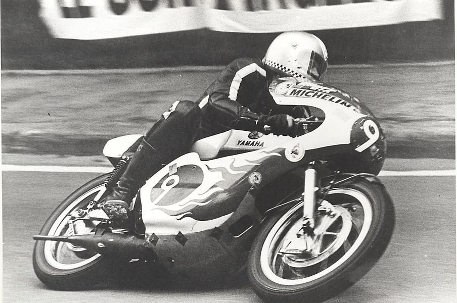 Großer Preis von Spanien, Parc de Montjuic 1974 in der 350 ccm Klasse/ Yamaha TZ
