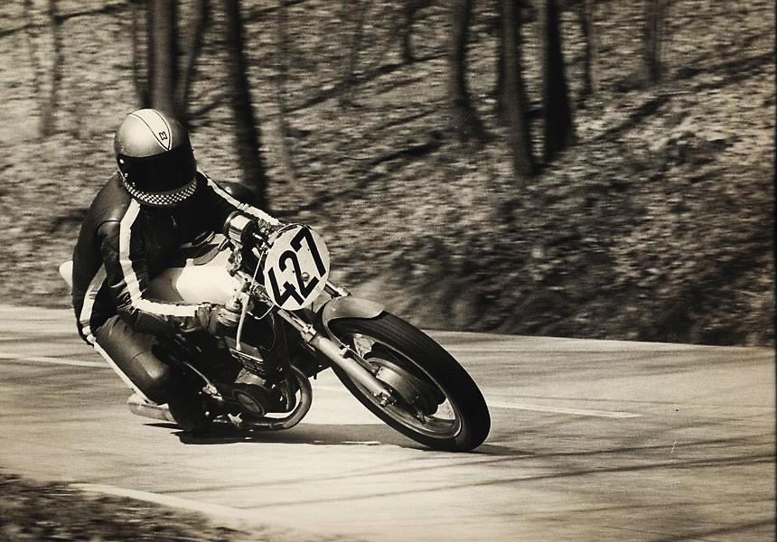 Bergrennen Zotzenbach 1973, Klasse 500/ Yamaha RD 350 1973