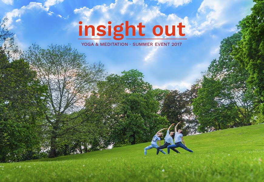 Insight Out! ZaZen meets Yoga ungewöhnlich. Foto: Tillmann Becker