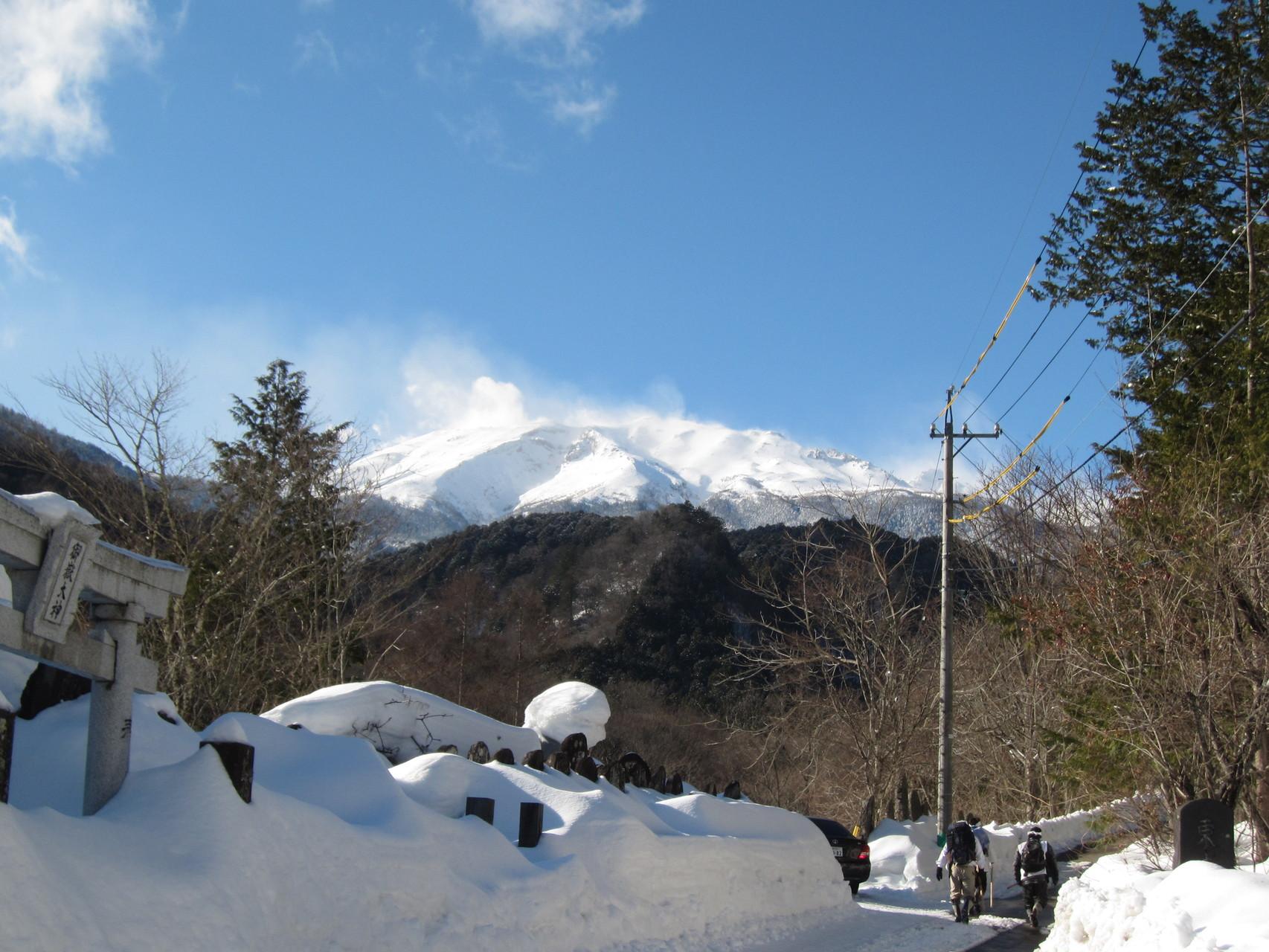 御嶽山寒登拝