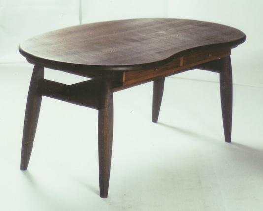 木童工房:ビーンズダイニングテーブル