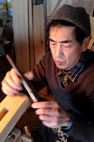 木工職人 故 関西春樹