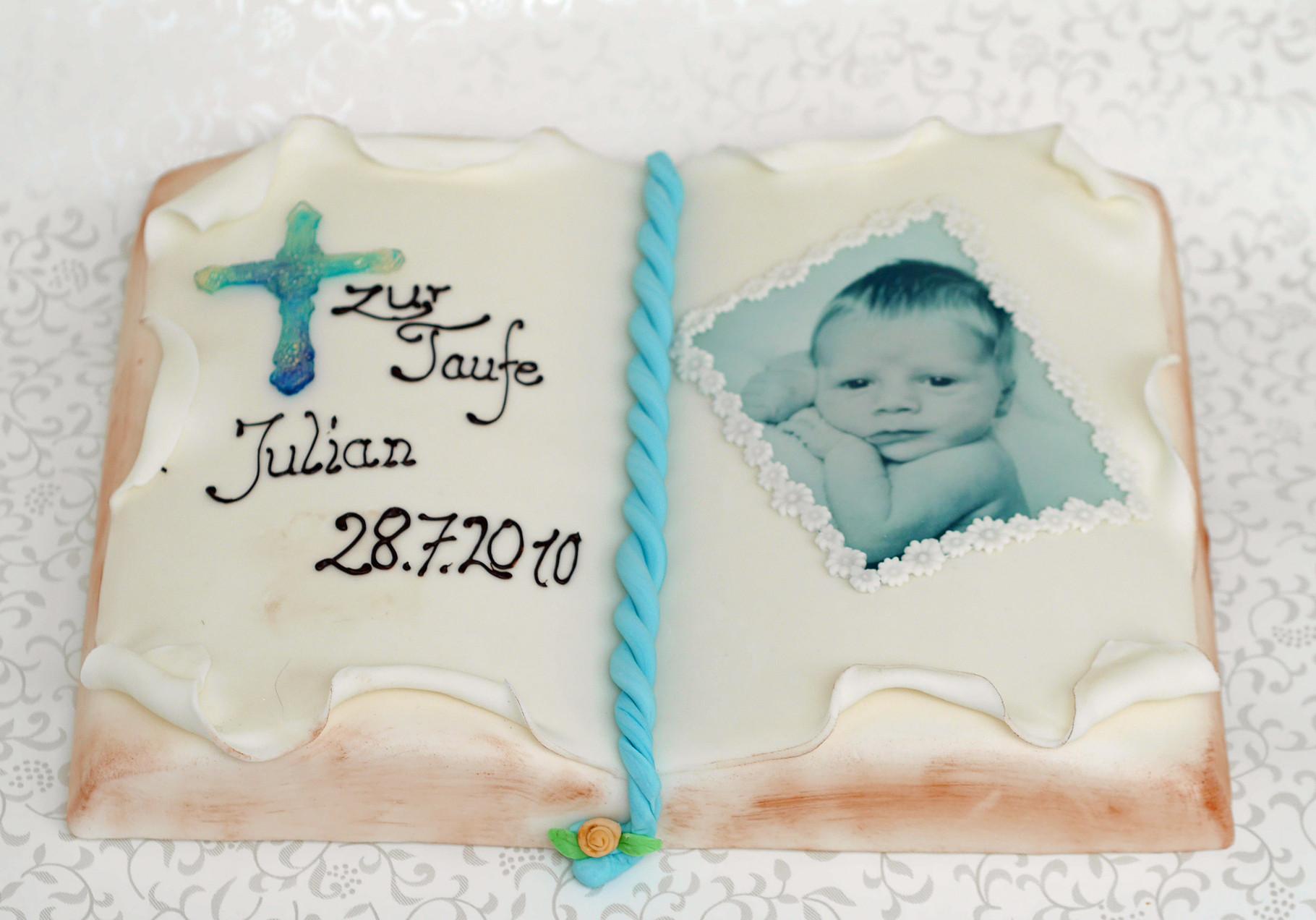 Exklusive Torte für Kindergeburtstag, Taufe, Kommunion - Feine ...