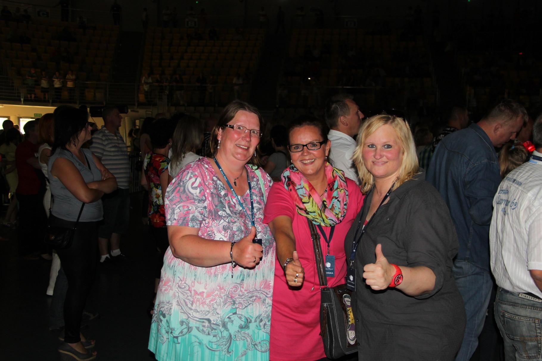 Kati, Astrid, Yvette