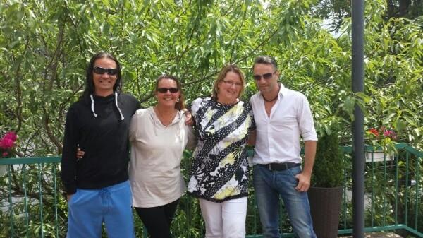 Nick, Astrid, Kati and Lars