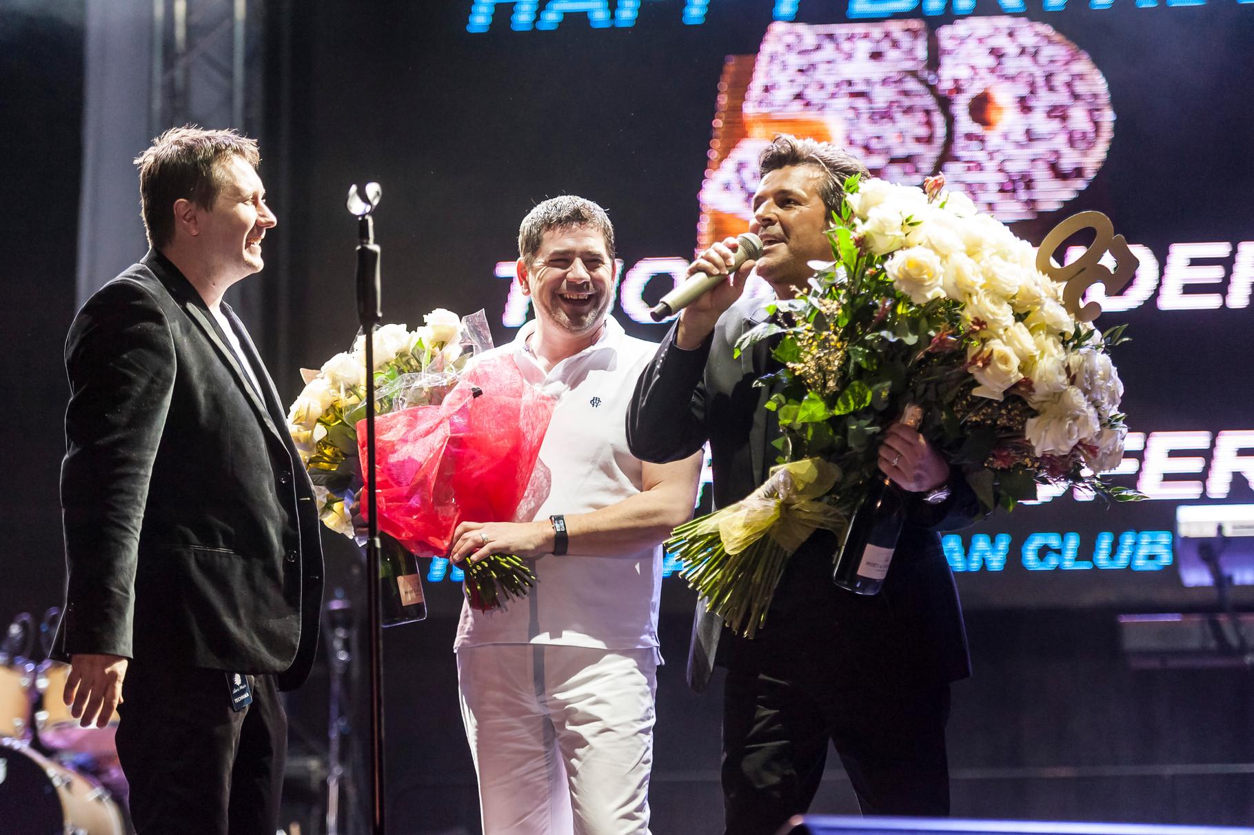 50th birthday of Thomas and Bernd - congratulations of the TA-FC Poland