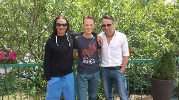 Nick, Andreas and Lars