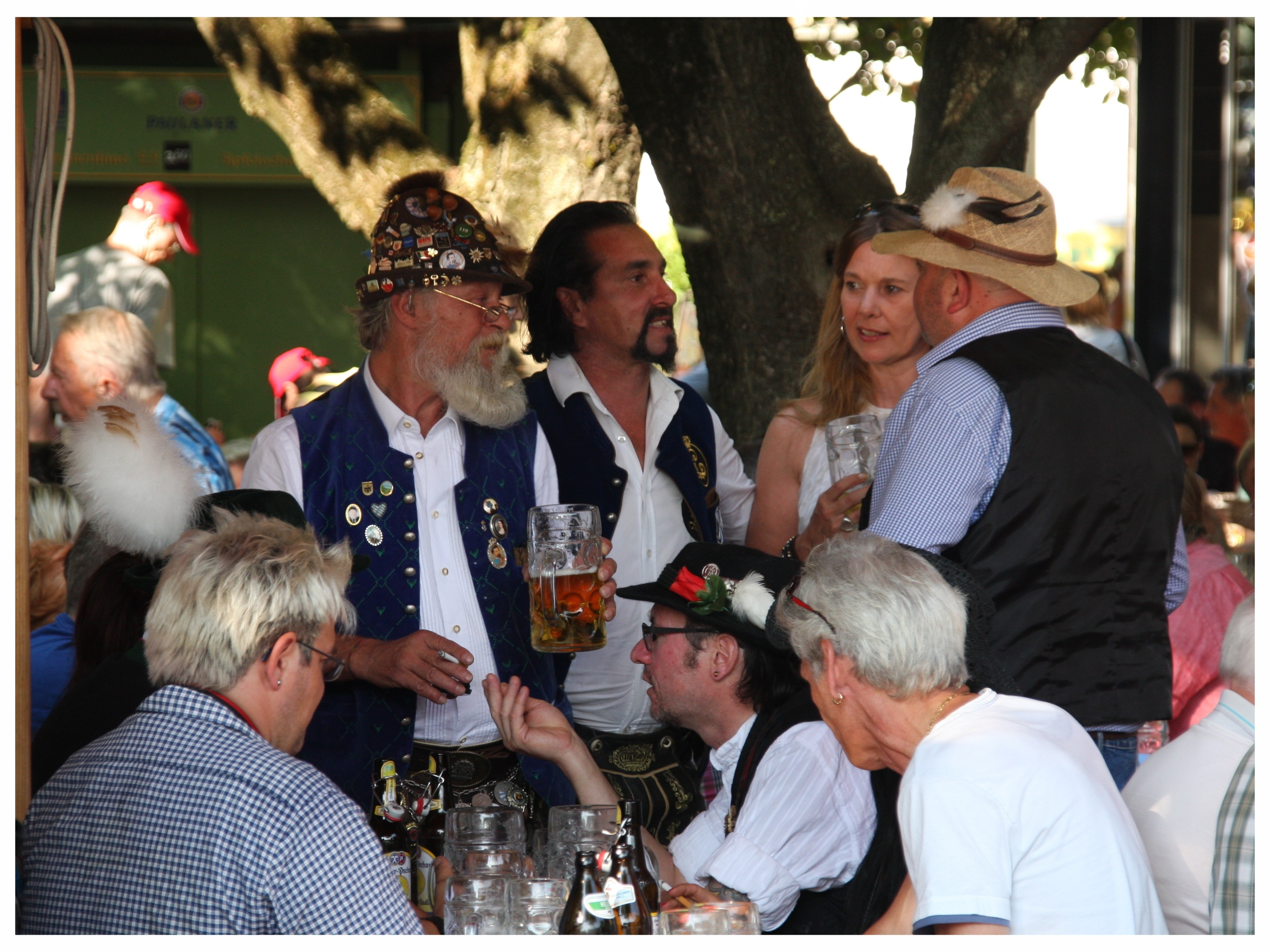Brunnenfest am Viktualienmarkt