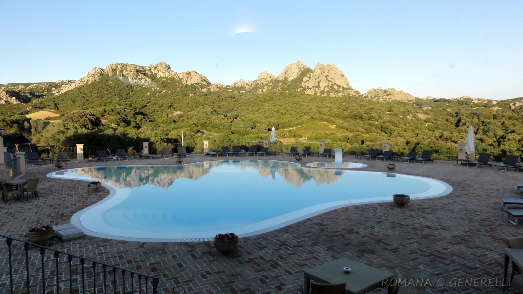 Hotel sulla collina Costa Smeralda