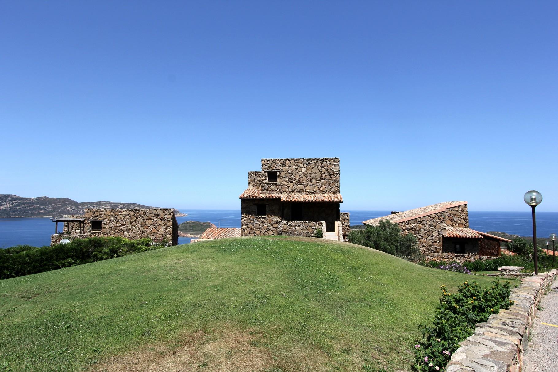 Le case Sarde